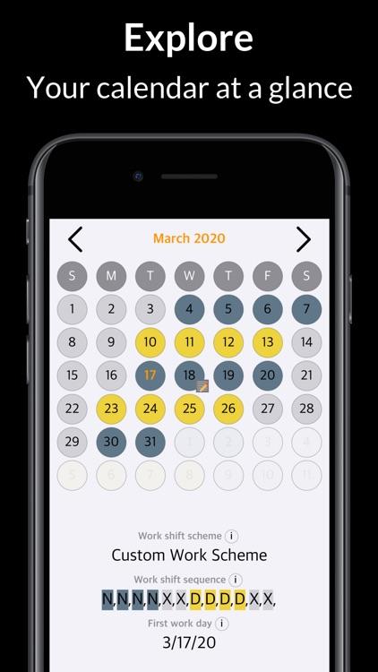 Rosta – Duty Calendar