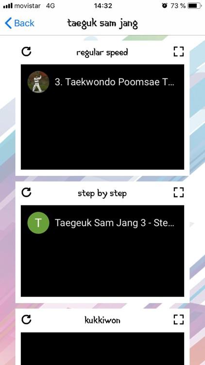 Taekwondo Poomsaes (Pumses) screenshot-3