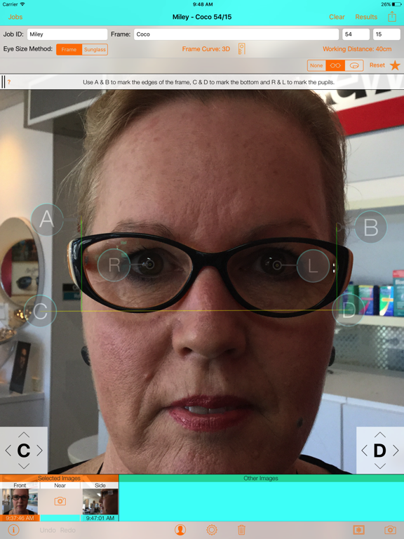 Optical Dispensing Assistant 2 screenshot one