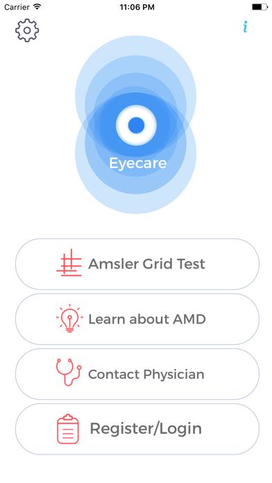Eyecare- Amsler Grid Eye Test