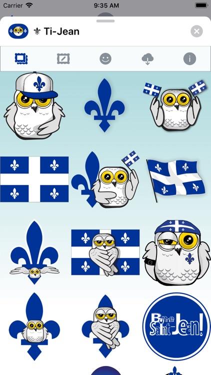 Ti-Jean Le Harfang • Stickers
