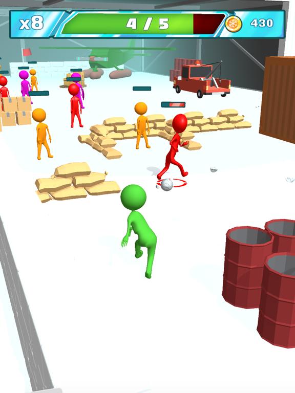 Snowballs fight screenshot 7