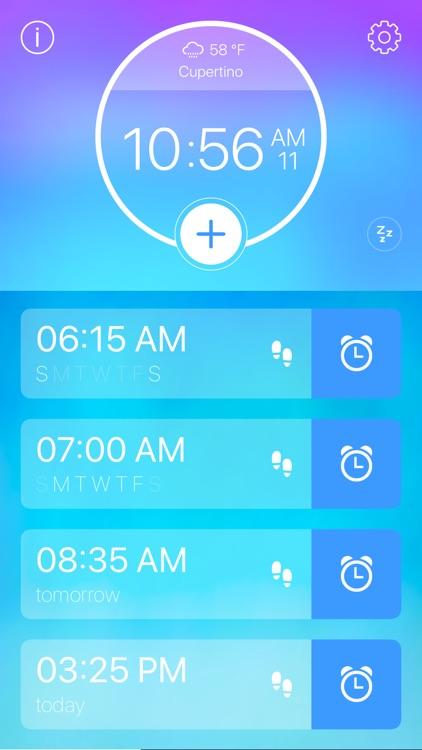 Step Out! Smart Alarm Clock screenshot-5