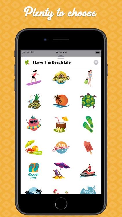 I Love The Beach Life screenshot-4