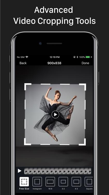 Video Crop – Trim & Cut Videos screenshot-0