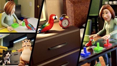 Parrot Simulator: Pet World 3D Screenshot on iOS