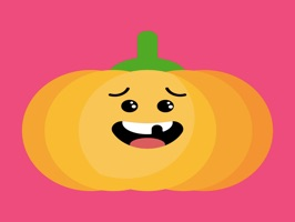 Red pumpkin emoji 2019