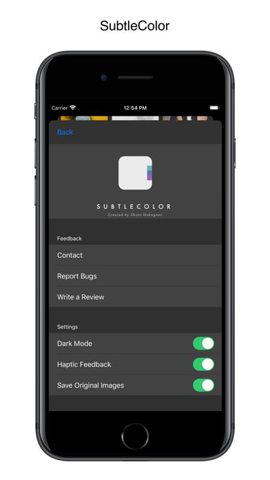 SubtleColor Screenshots