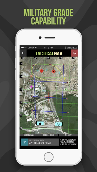 Tactical NAV Screenshot