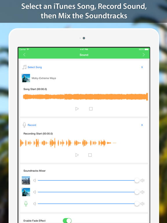 VideoSound — Add Music To Instagram Video screenshot