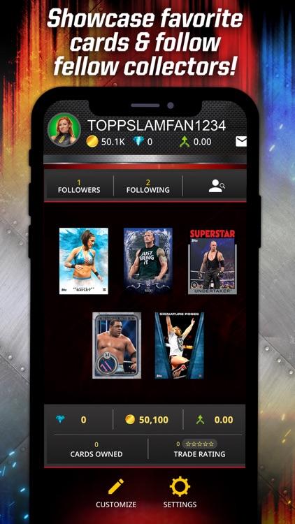TOPPS WWE SLAM: Card Trader screenshot-6