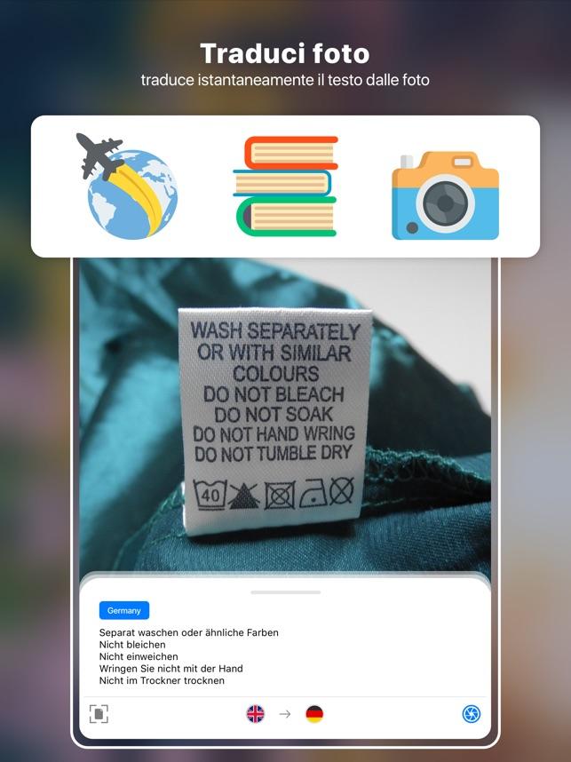Traduci Foto Cam Scanner Su App Store