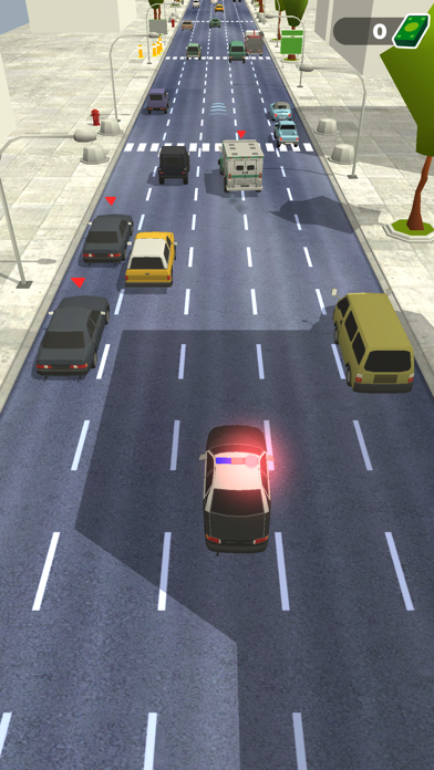 Police Chase - Hot Highways screenshot 1