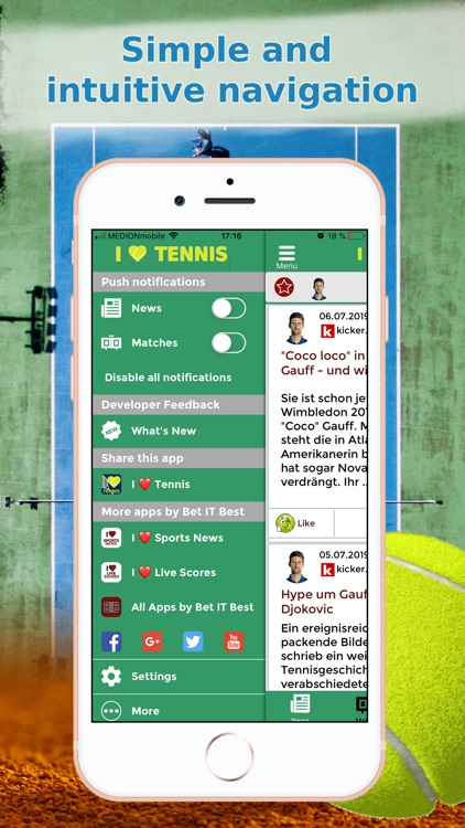 Sports News Tennis edition screenshot-8