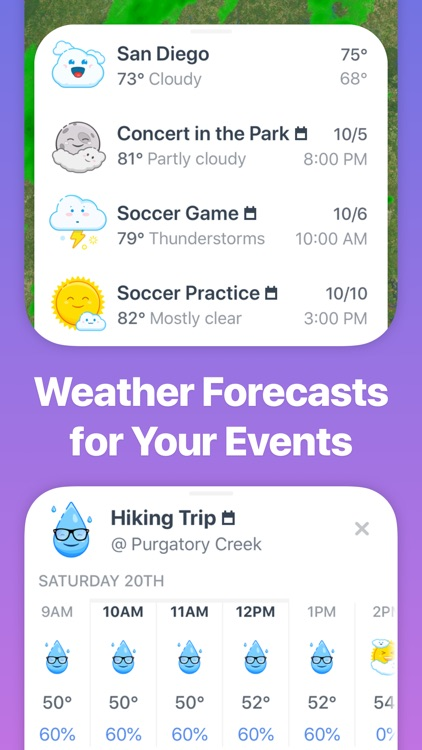 Weather Up ▴ Live Weather Maps screenshot-3