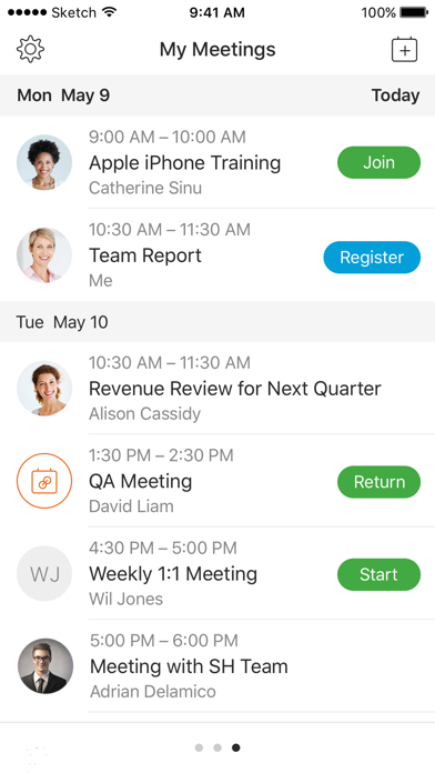 Cisco Webex Meetings by Cisco (iOS, United States) - SearchMan App