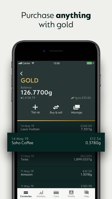 Glint: Global Gold Currency screenshot four