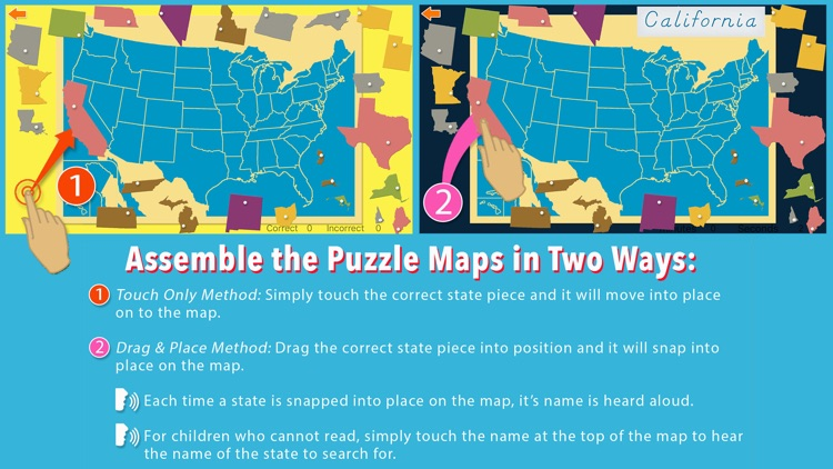 United States of America Map screenshot-3