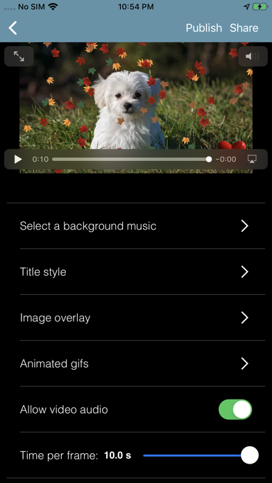 Moments - Create and share screenshot #6