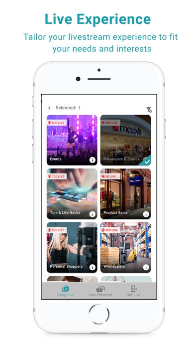Shoclef - البث المباشر للتسوقلقطة شاشة3