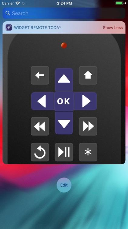 Widget Remote for Roku