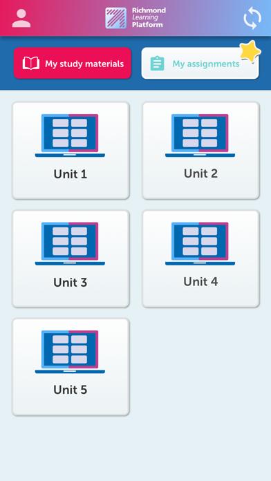 Richmond Learning Platform screenshot 2