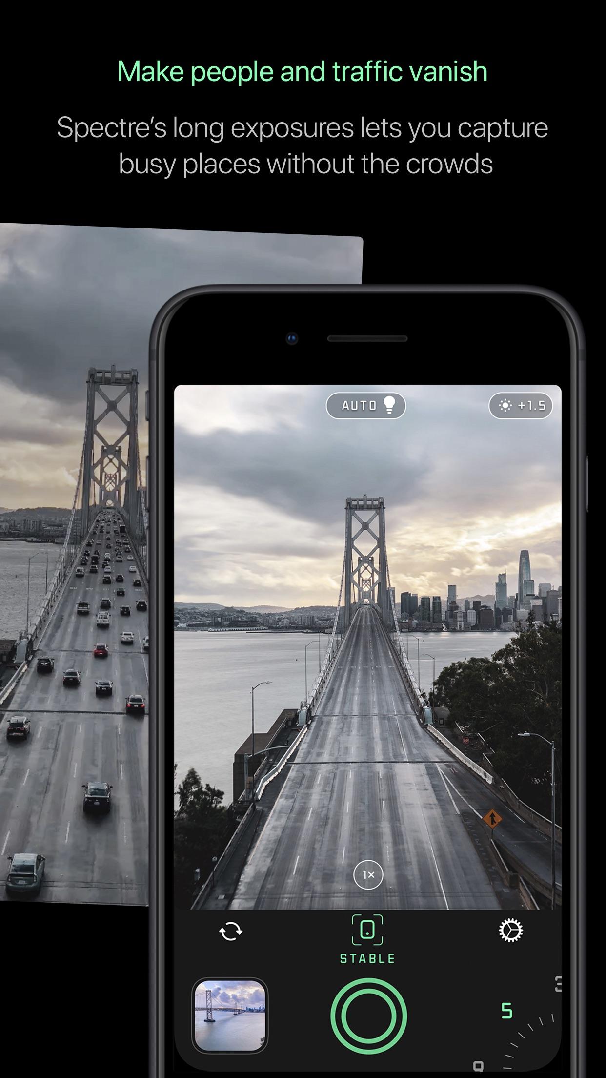 Screenshot do app Spectre Camera