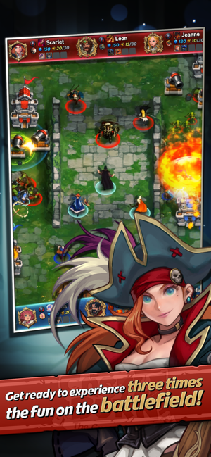‎Castle Burn Screenshot