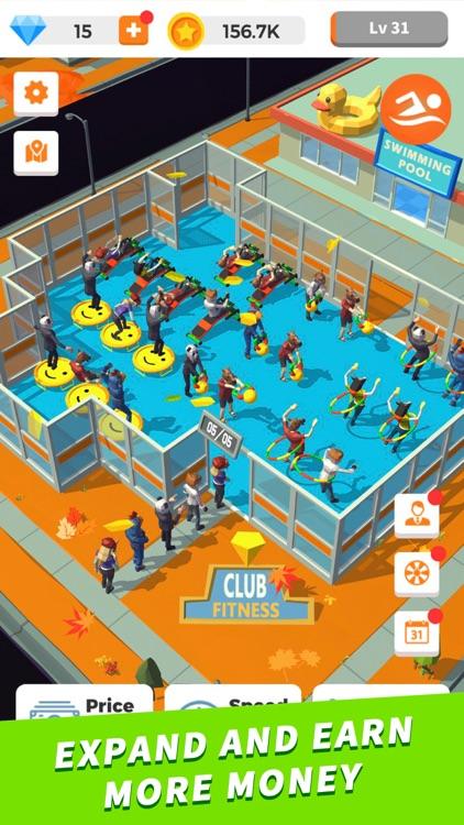Idle Gym - Fitness Simulation screenshot-3