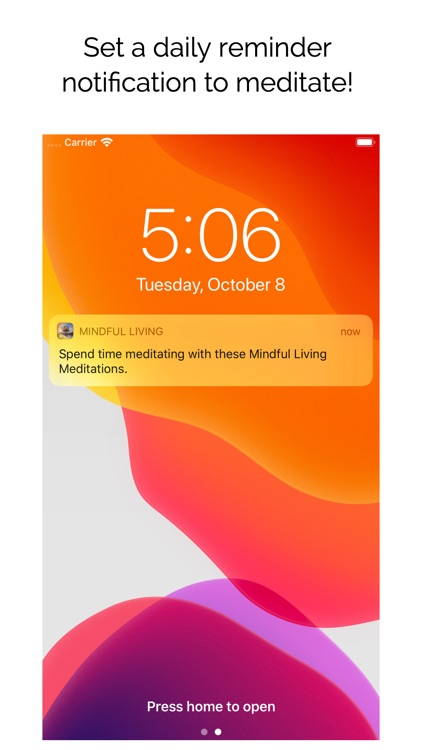 Mindful Living Meditations screenshot-4