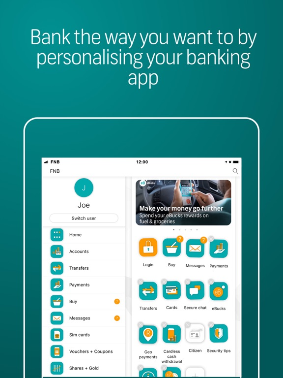 FNB Banking App by FNB Connect (iOS, United Kingdom