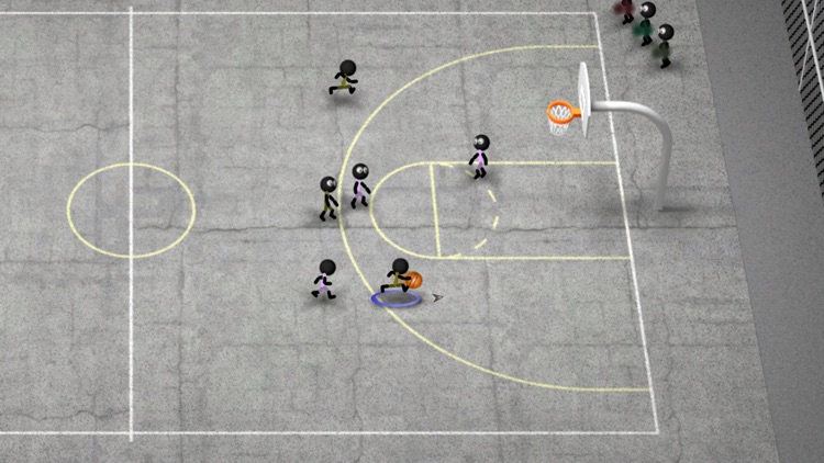 Stickman Basketball screenshot-4