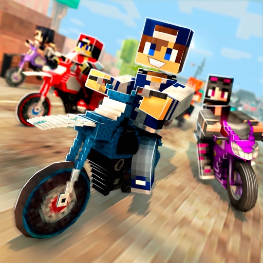 майнкрафт мотоцикл гонки игр бесплатно супер спорт мото 3д