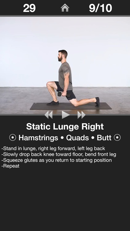 Daily Leg Workout - Trainer screenshot-1