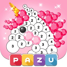 Color by number games for kids