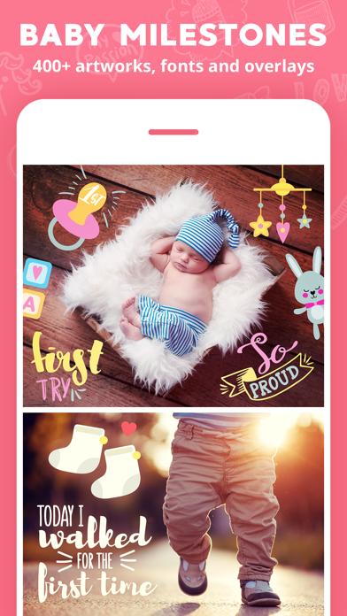Lil Pics: Baby Photo Editorのおすすめ画像3