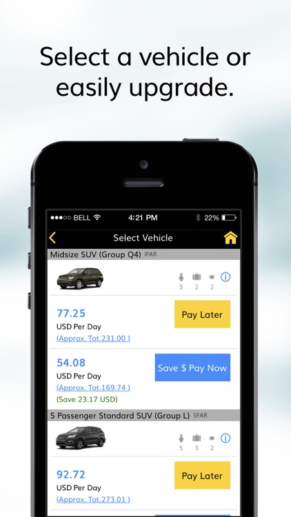 Hertz Car Rentals screenshot-3