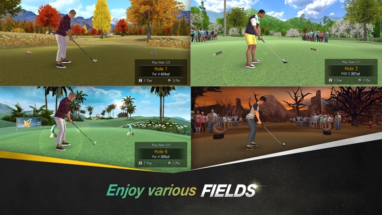 Shotonline Golf:WC screenshot-3