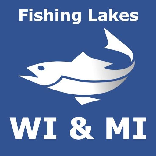 Michigan - Wisconsin fish lake