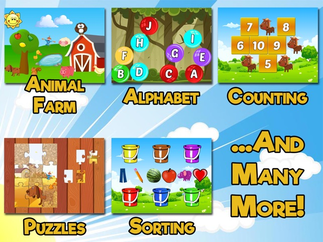 Barnyard Games For Kids on the App Store