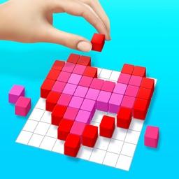 Cubes art - unique puzzle