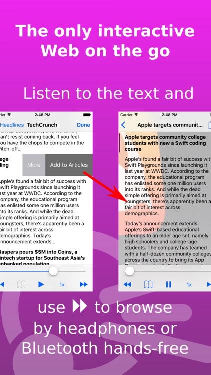 Speech Central: Voice Reader screenshot-0