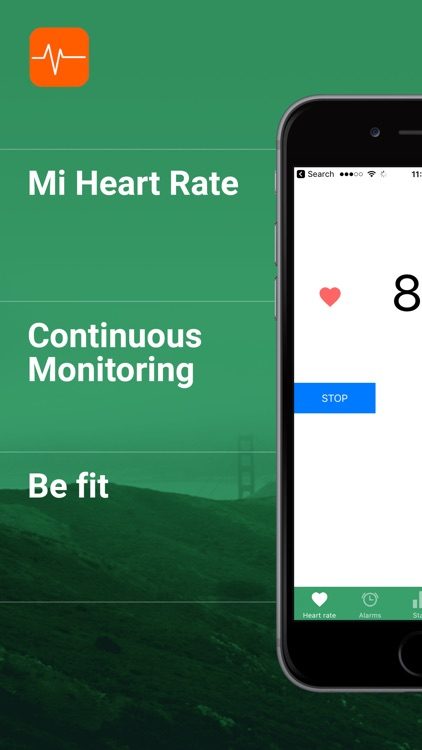 Mi Heart rate - be fit screenshot-0