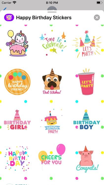 Happy Birthday Animated * screenshot-4