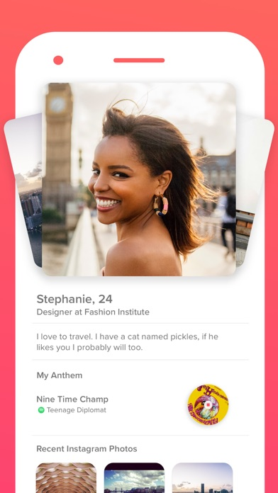 Screenshot for Tinder in India App Store
