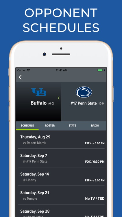 Penn State Football Schedules screenshot-6