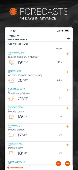 AccuWeather: Weather Alerts on the App Store