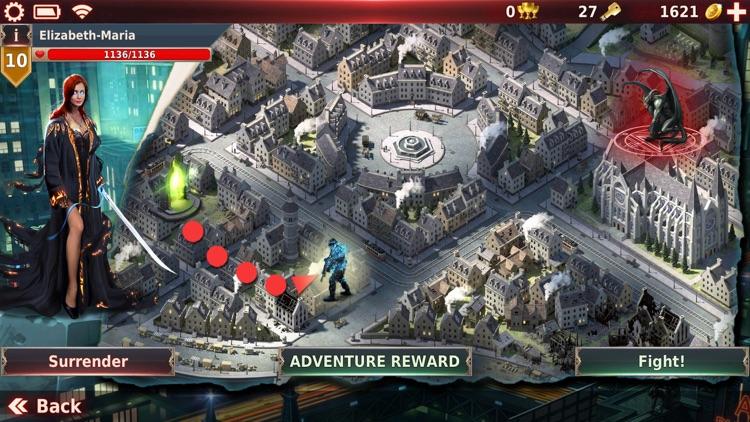 Gunspell 2- RPG Puzzle Match 3 screenshot-7
