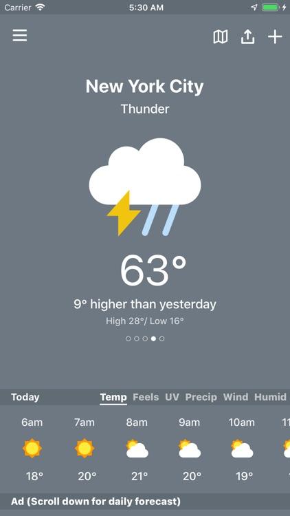 Weather AI - Weather Tracker screenshot-3