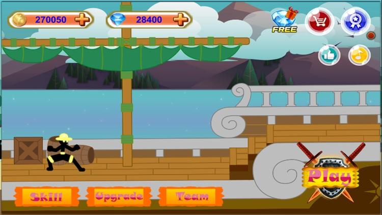 Stick Hero Pirate Fight Man screenshot-3